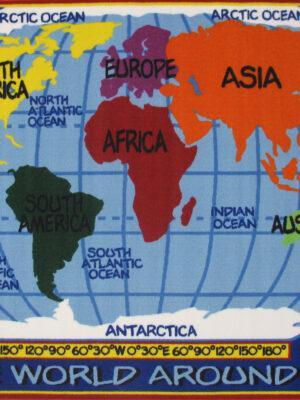 FT-167 Kids World Map
